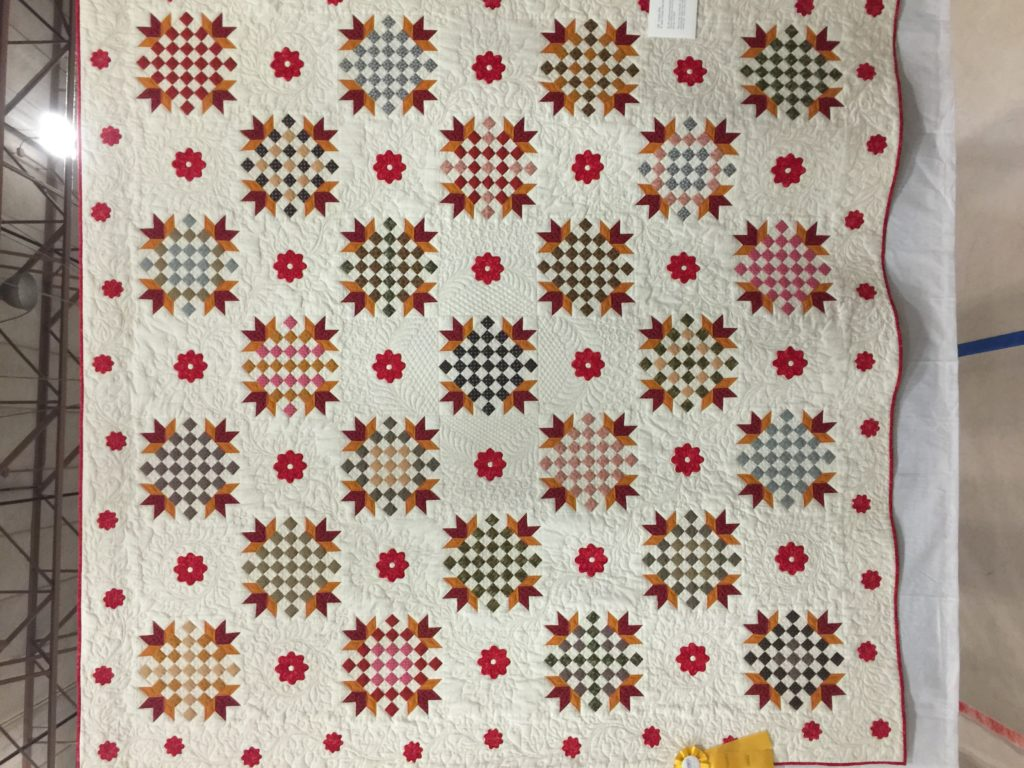 Pieced by BAnne Greene. Vendors Award, Quilters by the Sea Show April 2017