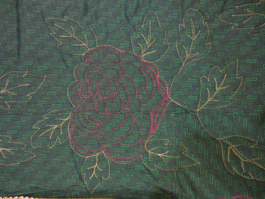 quilted rose